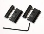 Адаптер-переходник (2 планочки) Leapers с ластохвоста на вивер/пикатинни (MNT-DT2PW01)