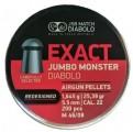 Пули JSB Exact Jumbo Monster Redesigned 1.645г, кал. 5.5 мм (5.52 мм) (200шт)