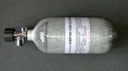 Баллон ВД ALSAFE для PCP пневматики, 2.5 л, с вентилем