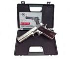 Пистолет охолощенный CLT 1911-CO Kurs, хромированный (кал.10х24)