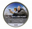 "Пуля пневм. Borner ""Hollow Point"",  4.5мм (500 шт) 0.58г"