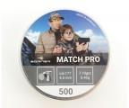 "Пуля пневм. Borner ""Match Pro"",  4.5мм (500 шт) 0.46г"