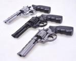 Охолощенный револьвер Таурус KURS, 4.5 дюйма, калибр 10ТК, черный/хром/графит
