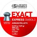 Пуля пневм. JSB Express Exact 0.510г, 4.52мм (500шт)