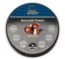 Пули H&N Baracuda Power 5,5мм, омедненные, 1,37 гр. (200 шт.)