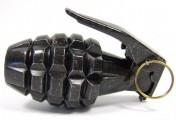 Модель гранаты MK-2 Лимонка, черная, DE-738