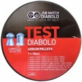 Набор пуль для теста JSB Test 5.5 мм (210шт)