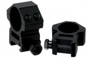 Кольца для оптики Leapers 25.4 мм, средние, Weaver