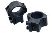 Кольца для оптики Leapers 25.4 мм, средние, ластохвост (RGPM-25M4)