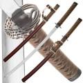 Набор из двух самурайских мечей Dark Age JP-613BR Tsuru