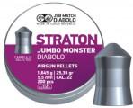 Пули JSB STRATON JUMBO MONSTER 5.51 мм, 1.645г (200шт)
