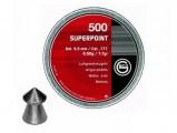 Пули пневм. Geco Superpoint 4.5мм, 0.5г (500шт)