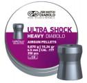 Пули JSB Heavy Ultra Shock 0.67г, кал. 4.52 мм (350шт)