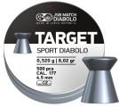 Пуля пневм. JSB Target Sport Diabolo 4.5 мм, 0.52г (500шт)