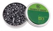 Пули пневм. RWS Diabolo Basic 4.5 мм, 0.45г (500шт)