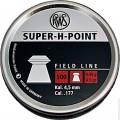 Пули пневм. RWS Super-H-Point 4.5 мм, 0.45г (500шт)